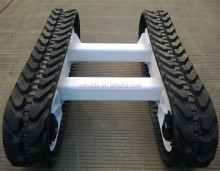 DH70 rubber track,DH70 excavator undercarriage parts rubber track shoe/rubber pad