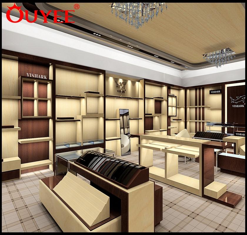 Retail Interior Design Footwear Wall Mounted Shop Furniture Store ...