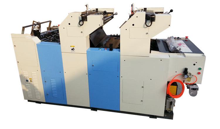 Zr247ii Two 2 Color Offset Printing Machine Mini Offset Machine ...