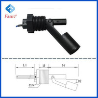 Electronic Magnetic Sensor Water Tank Float Level Switch