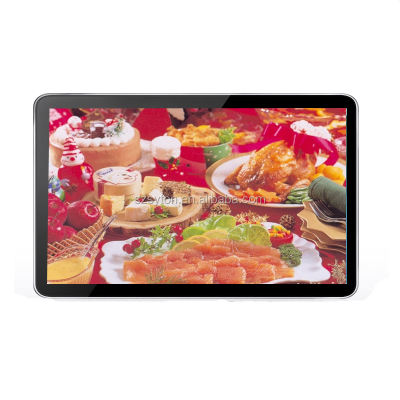 2019 Advertising Display Screen wall mounted indoor android <strong>22</strong>&quot; 32 inch 43 inch Digital Signage Ads Player