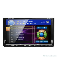 Car dvd player gps software with car backing display/built-in tv,ipod
