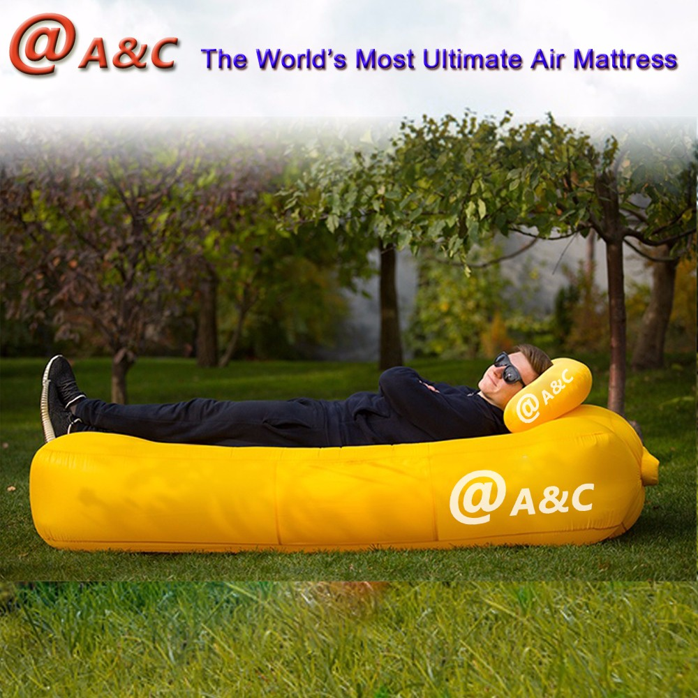 Alibaba 2017 Inflatable Beach Lounger, Gadgets 2017 Newest Inflatable Bed/