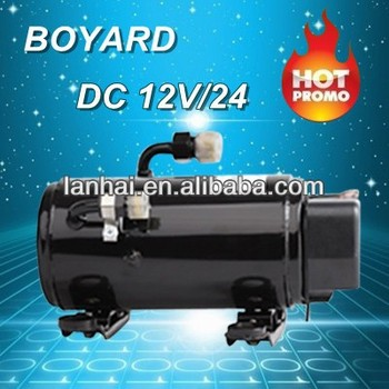 Truck Air Conditioner Kits R134a Brushless Dc Compressor 12v/24v/48v/72v  For Electric Air Conditioning System - Buy Truck Air Conditioner