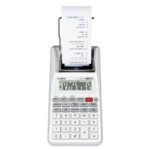 Canon Canon 12-Digit Palm Printing Calculator, 2-Color,4 in.x8 in.x2 in., White