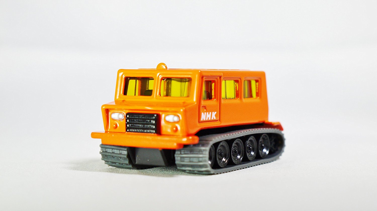 TAKARA TOMY TOMICA Commercial NHK OHARA SNOW TIGER SM30 Vehicle Diecast Orange Color