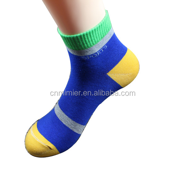 China Socks factory 2017 Men's fashionable colorful jacquard custom athletic Ankle supreme Socks