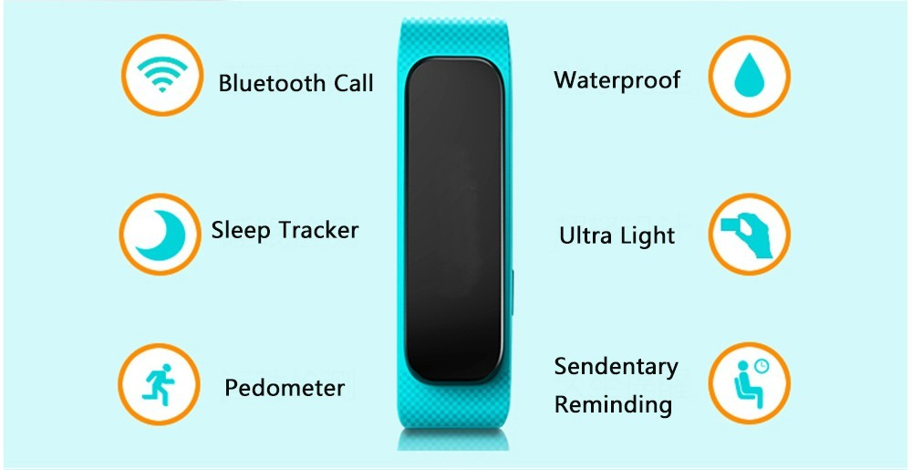 Intelligent Bluetooth smart bracelet headset B1