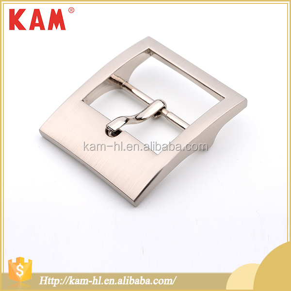 High quality 2.2*4.5 cm nickel alloy pin press belt buckles in metal
