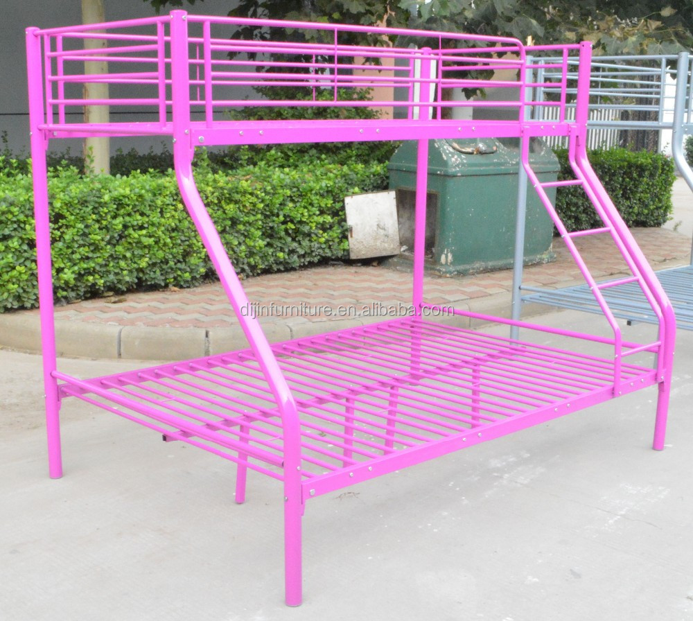 Modern design bunk bed metal bunk bed cheap triple bunk for Metal bunk beds for sale cheap