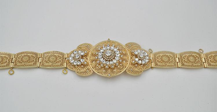 new caucasus metal waist belt 22k gold jewelry buy new
