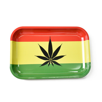 Herb Metal Rolling Tray 180X125mm
