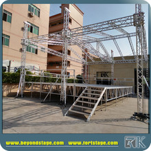 Outdoor concert used well event stage aluminum platform for sale