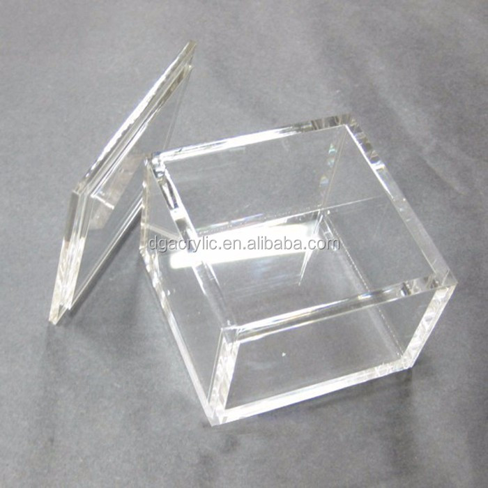 Wholesale Custom 6 Sided Small Mini Square Cube Frosted