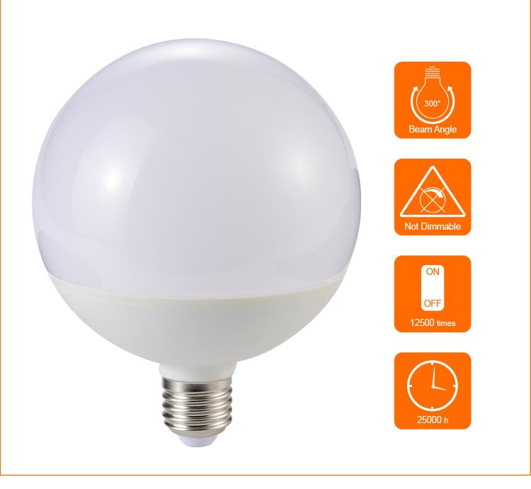 Dimmable Led Bulbs 220v Globe Led Lamp G120 10w 12w 18w Led Globe ...