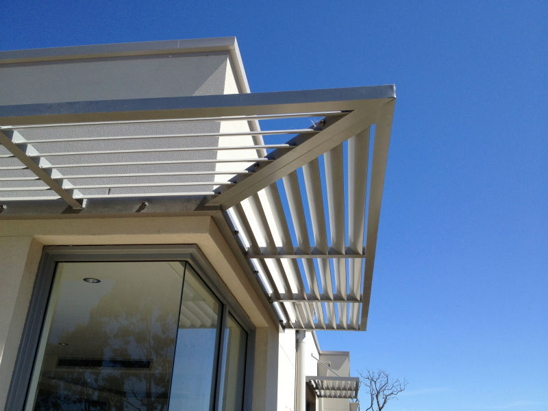Building top level aluminium pergola with customer design project pergola buy modern aluminium for Pergola aluminium design