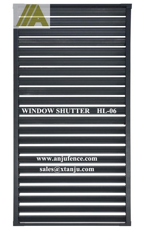 Lower price with good quality Steel window shutter / Steel window louvre HL-06
