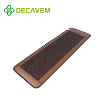 Decavem infrared therapy heating jade massage bed mat
