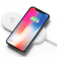 2018 New for Airpower Qi Wireless Charger 2 in 1 For iPhone X 8 For Apple Watch