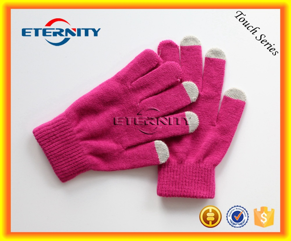 Christmas gift Customized Magic Smart Phone Screen Touch Gloves