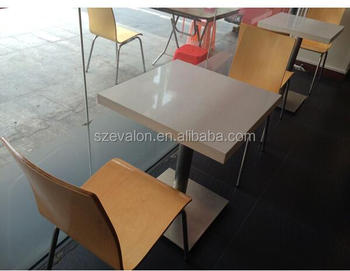 Faux Stone Fast Food Table Tops Marble Dining TableRestaurant - Restaurant marble table tops