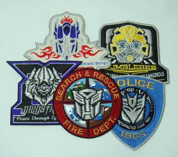 dongguan high quality custom iron on patches
