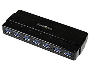 7 Port Superspeed Usb 3.0 Hub W/ Adapter -2 Pack