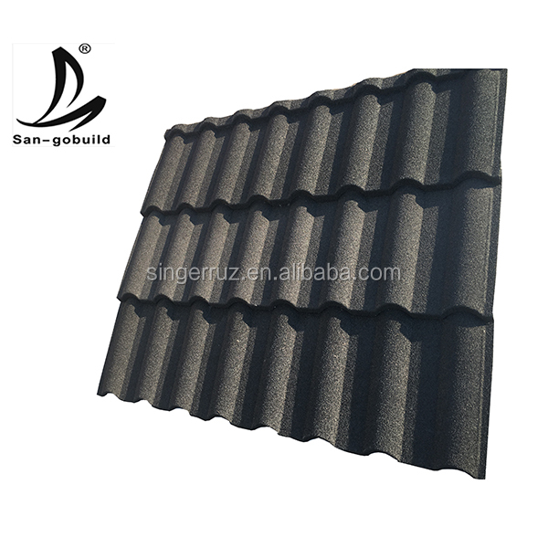 Galvalume Sheet Stone Coated Metal Roof Tiles Roofing Sheet Sizes To Ghana  - Buy Roofing Sheet Sizes To Ghana,Galvanized Roofing Sheet,Corrugated
