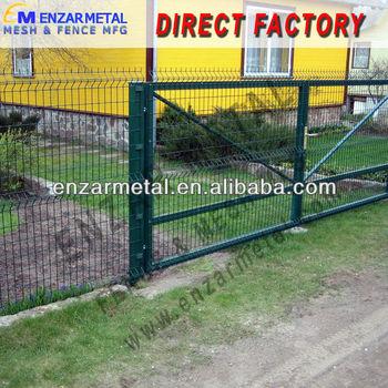 Welded Mesh Fence Gate/house Steel Gate Design - Buy Welded Mesh ...