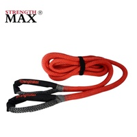 JINLI Low price elastic nylon tow ropes vehicle recovery kinetic rope