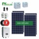Cheap Inverter Generator 5KW Off Grid Solar System Batteries And Solar Panel Brackets