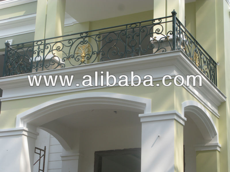 Best wrought iron balcony BH-10147