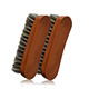 Horsehair Shoe Shine Brushes with Horse Hair Bristles for Boots, Shoes Handbags Coats Pants Sofa Furniture Clothes Leather Care