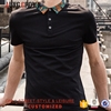Cheap Wholesale Custom Plain Colors Mens T Shirt Polo Cotton Polyester Oem