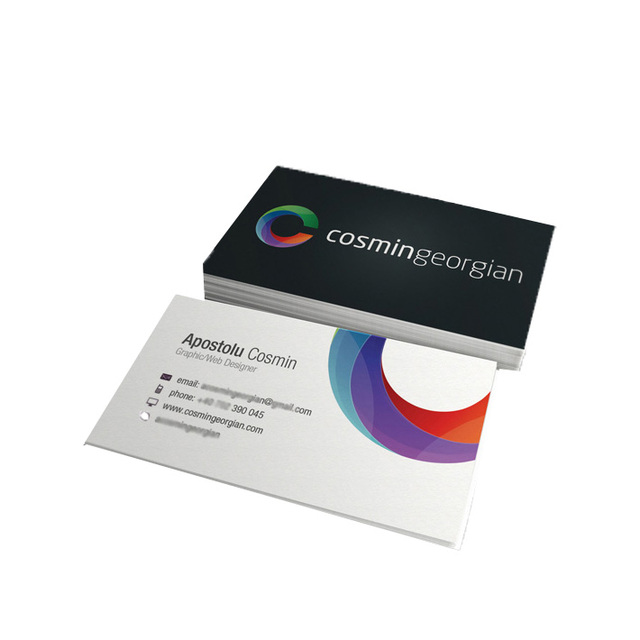 Buy cheap china paper print business cards products find china name card printing custom business card with lamination lot paper card colourmoves
