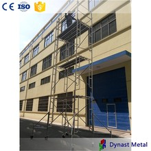 Steel Dip Paiting High Strength construction and housing industries Asia open frame scaffolding