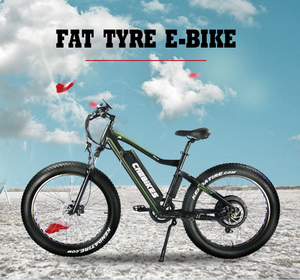 Factory Price Fashionable 36V 500W Electric Bicycle Fat Tire 26 Inch