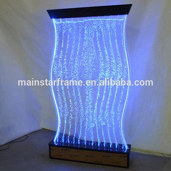Hot selling product acrylic led lighting water bubble wall