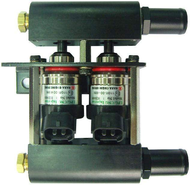 Injector For GAS Injection Systems