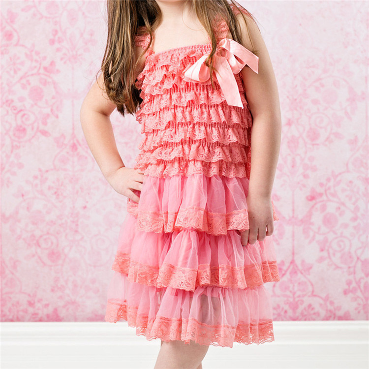 Lace flower baby girls dress Lace - Flower girl dresses- Baby lace dress