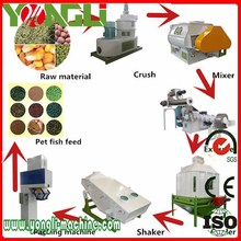 ISO9001 and EU CE certification animal feed extruder pellet plant