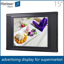 FlintStone15 inch shenzhen usb led control panel screen pet food/RC toys advertising player
