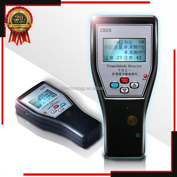 Factory Directly Hot Sale Temp Humidity Formaldehyde Detector Home