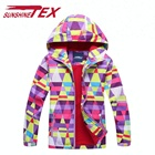 Girl Cute Windbreaker Kids Warm Clothes Children Outdoor Sport Jacket
