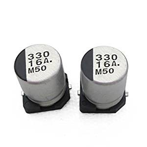 Goliton 20pcs/bag 16V 330UF 810MM SMD aluminum electrolytic capacitors