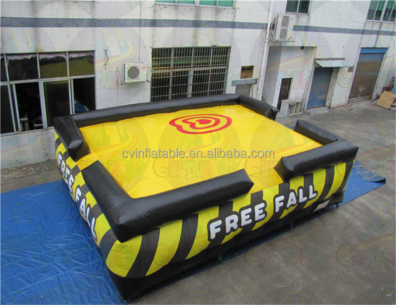 Cheap inflatable jump air bag, giant bag jumps, inflatable stunt bag for sales