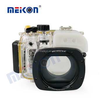 Meikon Underwater Housing Waterproof Case for Canon Camera G15
