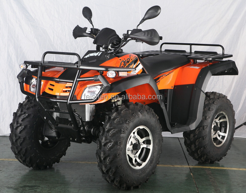 400cc 4x4 Atv With Snow Track 400cc With Snow Plough Fa H400