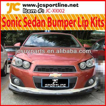 For Chevrolet Sonic Sedan Body Kit Chevy Sonic Aveo Pp Bumper Lips