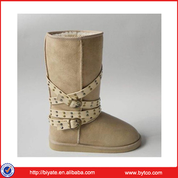 New Style Fashion Women Boots With Fur